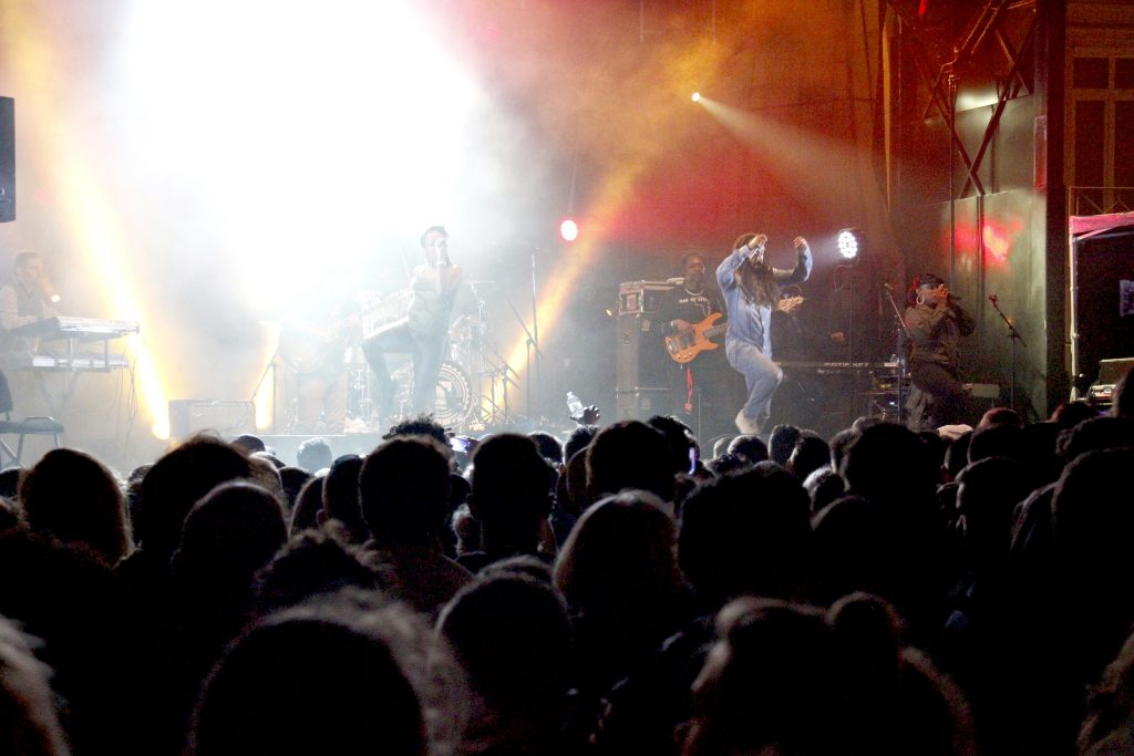 mascarets - concert nuit