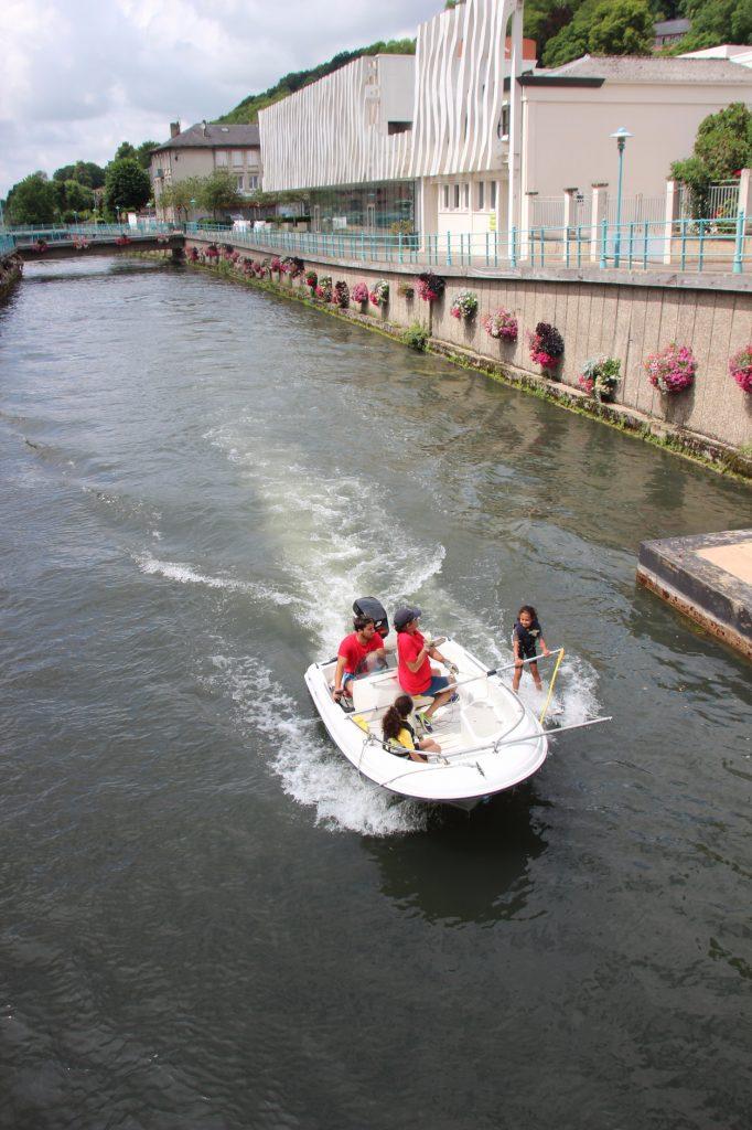 mascarets - bateau