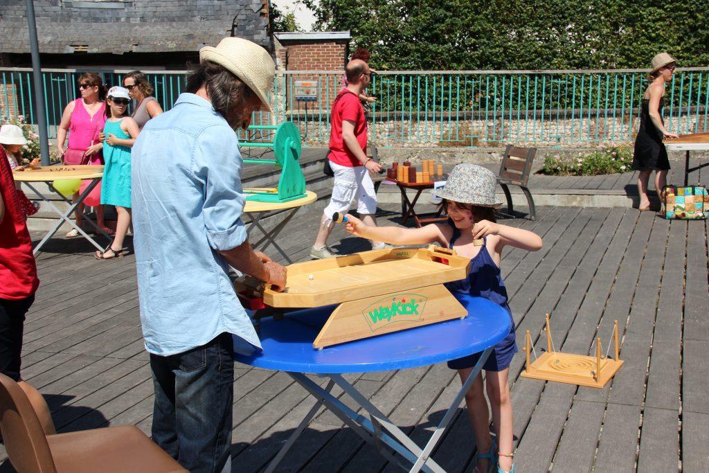 mascarets jeu en bois