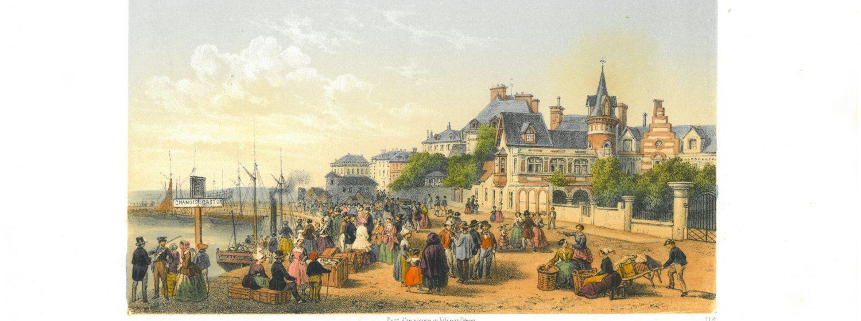 Les expositions temporaires      L'architecture du littoral, par Paul-Amédée Planat  Exposition présentée du 7 avril au 16 septembre 1