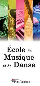 Brochure de l'école de Musique et de Danse de Pont-Audemer