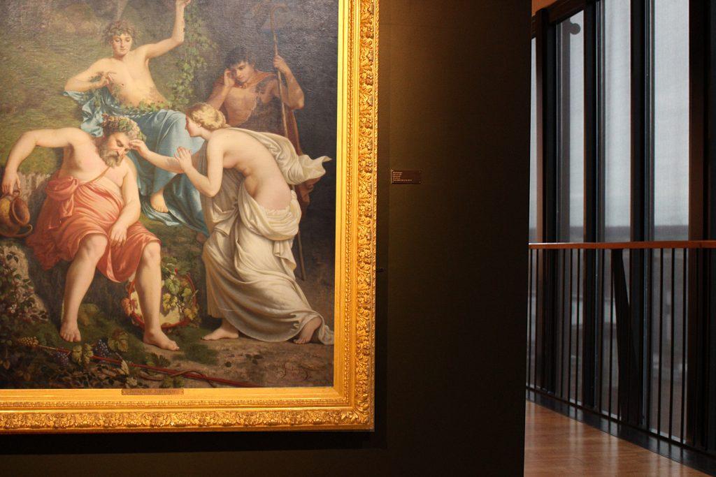 Vue de l'exposition «Acquisitions – restaurations, les projets du musée Alfred-Canel»