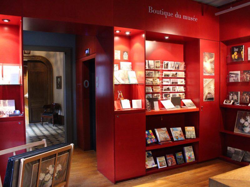 La boutique-librairie du musée