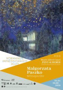 Expostion Malgorzata Paszko, rétropective affiche